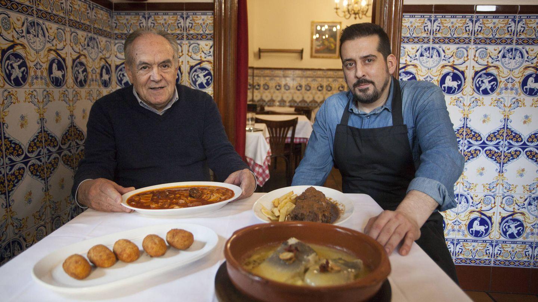 Mariano y David, de Casa Mariano. (Enrique Villarino)