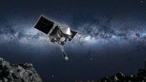Una sonda de la NASA hace historia y recoge por primera vez muestras de un asteroide