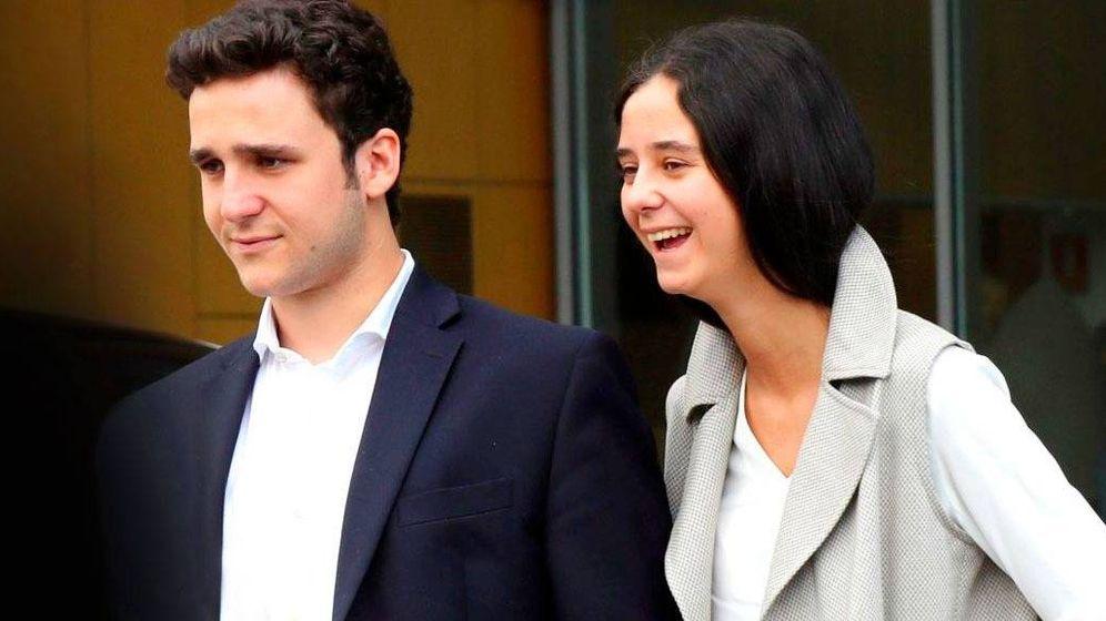 Foto: Felipe y Victoria de Marichalar de Borbón. (EFE)