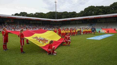 La España femenina debuta con mucha solvencia en la Eurocopa
