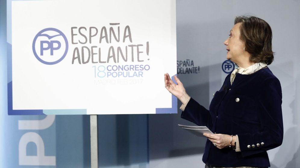 Foto: .-La presidenta de la Comisión Organizadora del XVIII Congreso Nacional del PP, Luisa Fernanda Rudi. (Efe)
