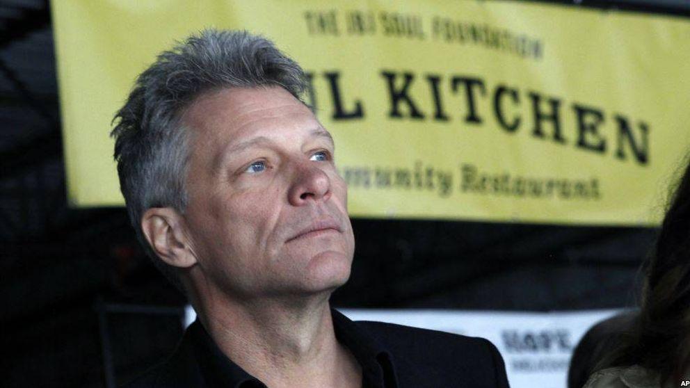 Jon Bon Jovi, un artista que da de comer a los pobres