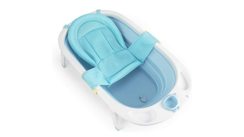 Bañera plegable para bebé con malla de seguridad Fascol