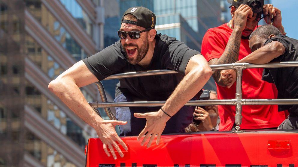 El sueldo de Marc Gasol tras aceptar quedarse en los Toronto Raptors