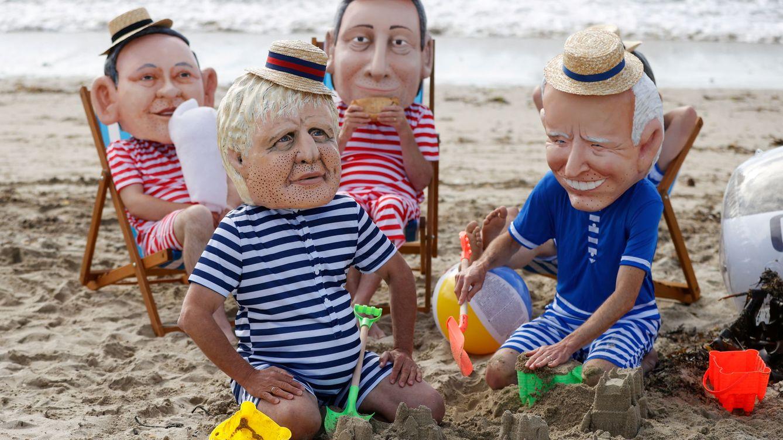 Boris, de vacaciones en Marbella en medio del caos sin ningún coste político