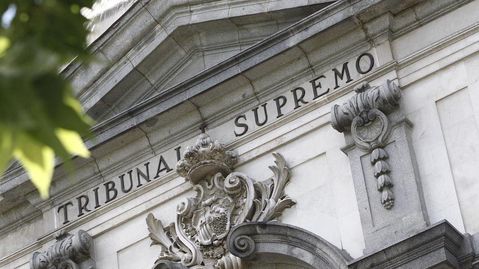 Foto: Fachada del Tribunal Supremo. (EFE)