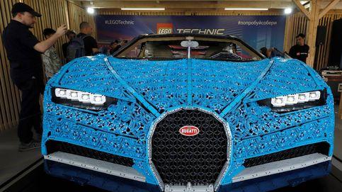Primer vehículo Lego con motor en Rusia