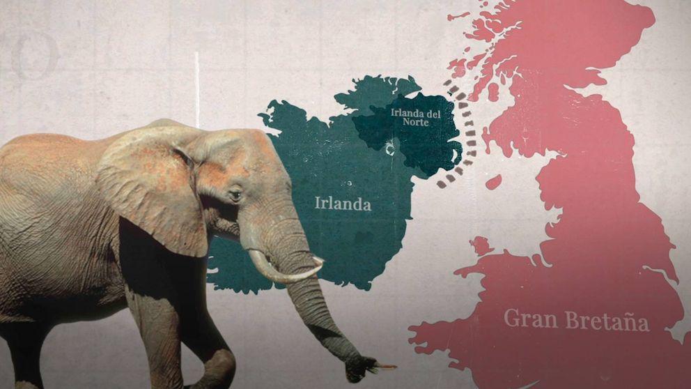 La frontera irlandesa, el elefante del Brexit que nadie sabe resolver