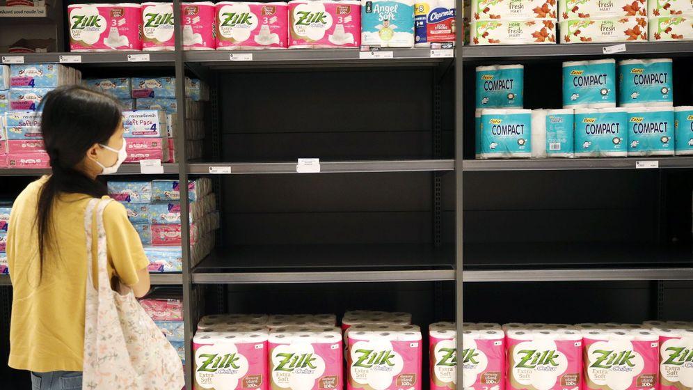 Foto: Papel higiénico en un supermercado. (Reuters)