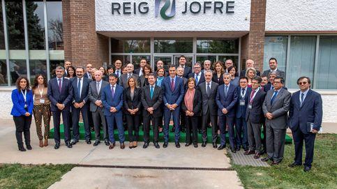 La familia Ybarra acude a la ampliación de Reig Jofre y se hace con un 5% del capital
