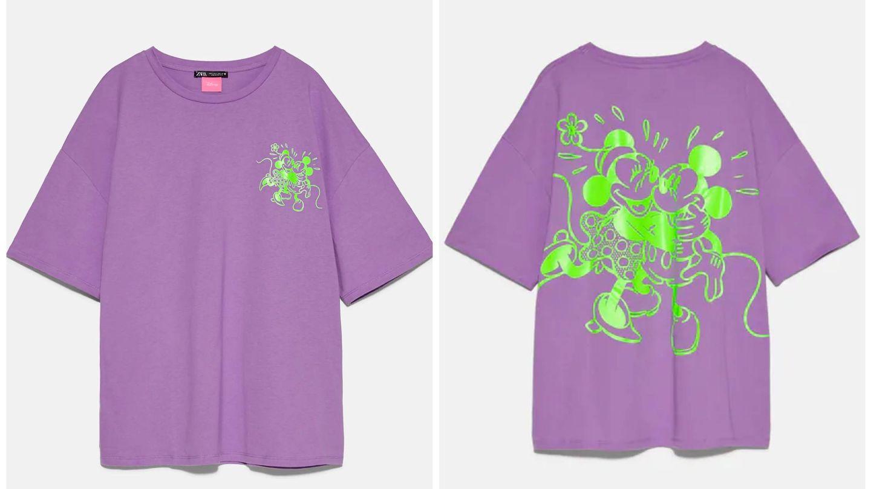 Nueva camiseta de Zara y Disney. (Cortesía)