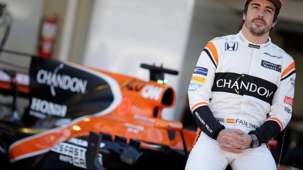 Foto: Fernando Alonso, en uno de sus últimos grandes premios con el motor Honda. (Reuters)