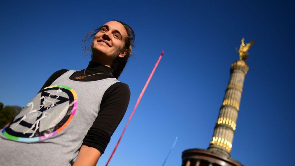 Foto: Carola Rackete en Berlín. (Reuters)
