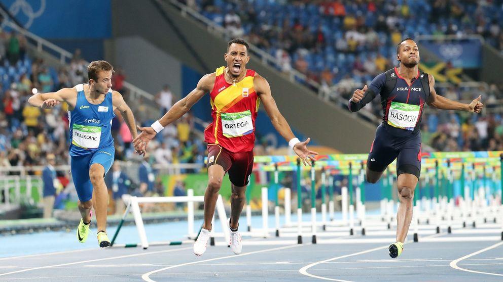 Orlando Ortega logra plata en los 110 vallas y rompe la sequía del atletismo