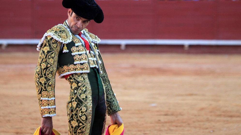 Foto:  José Tomás triunfó en su reaparición. (EFE)