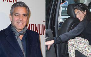 George Clooney y la abogada Amal Alamuddin están prometidos