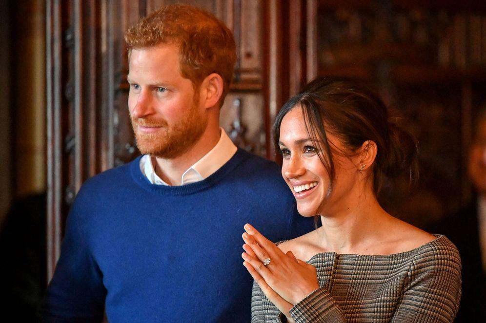 Foto: El príncipe Harry y Meghan Markle. (Gtres)