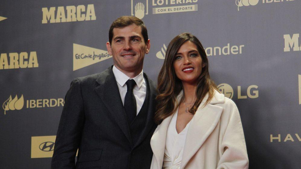 Foto: Iker y Sara en un acto de 'Marca'. (Cordon Press)