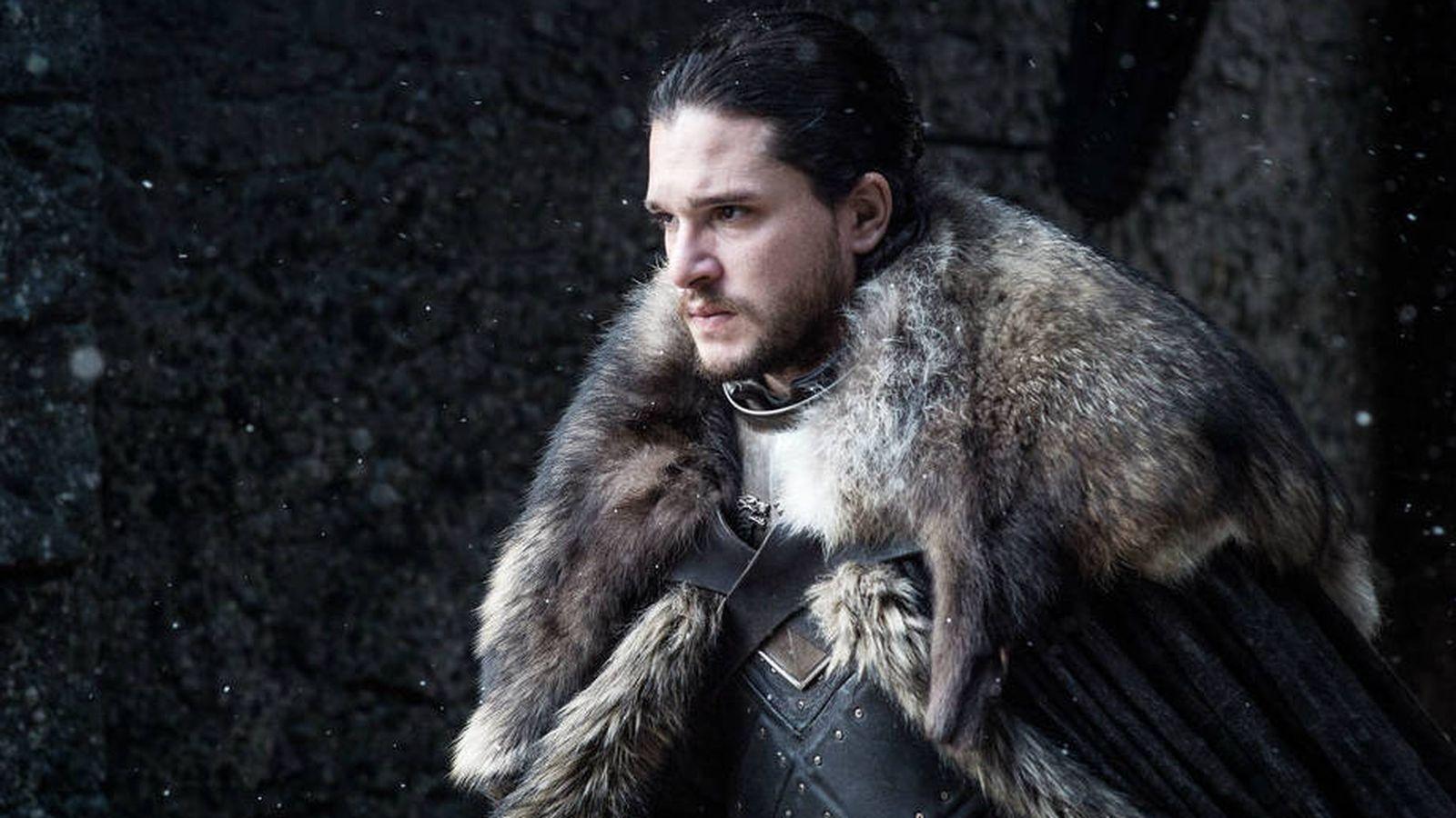 Foto: Jon Nieve (Kit Harington) en la séptima temporada de 'Juego de tronos'. (Movistar)