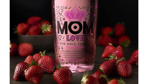 MOM Love Fresas, una suave ginebra a base de frutos rojos y cuatro destilaciones