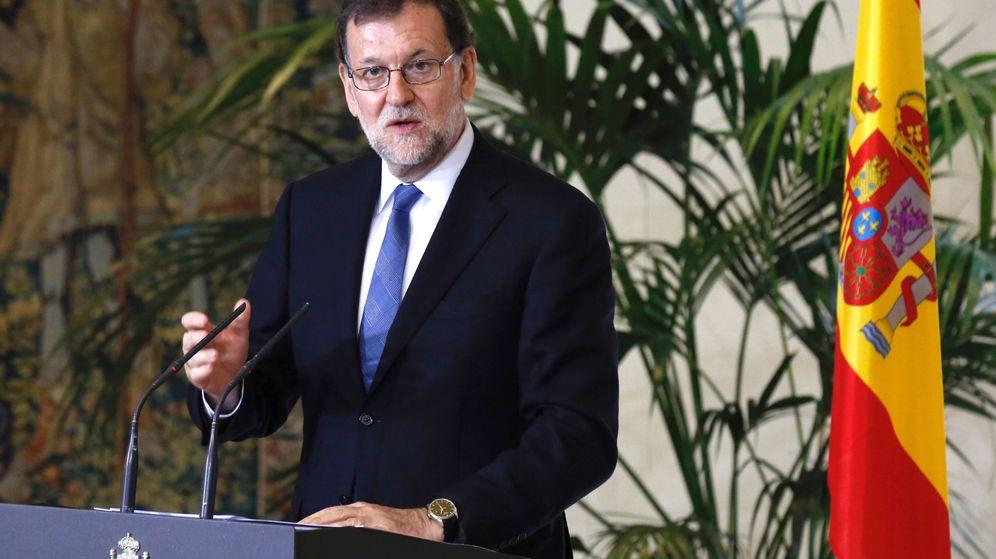 Foto: El presidente del Gobierno en funciones, Mariano Rajoy, este viernes. (EFE)