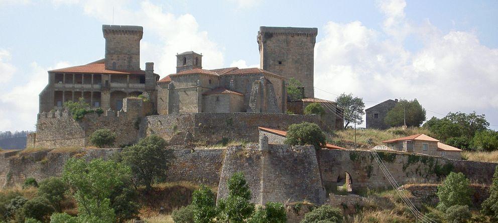 Foto: Castillo de Monterrei, escenario de una de las más importantes batallas de la Gran Guerra Irmandiña.