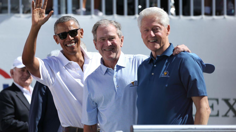 Obama, Bush y Clinton se presentan voluntarios para la vacuna del coronavirus