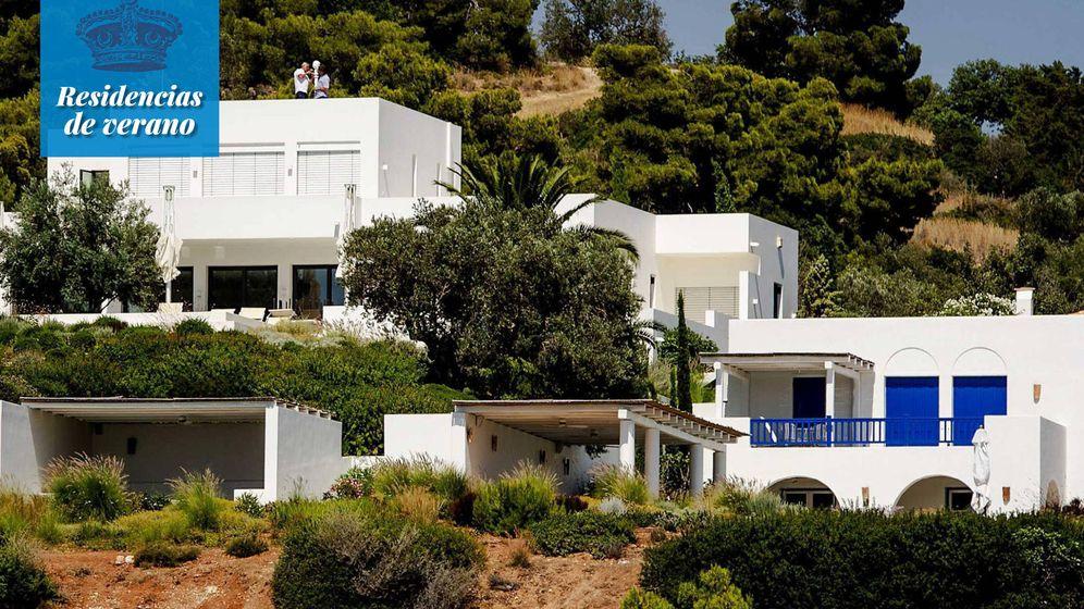 Foto: Vista de la mansión de los reyes holandeses en Grecia, frente al Egeo. (EFE)