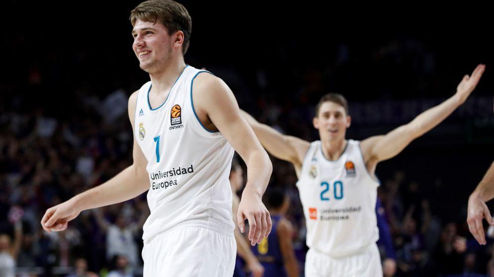 Foto: ¿Será esta la última temporada de Luka Doncic en el Real Madrid antes de irse a la NBA? (EFE)