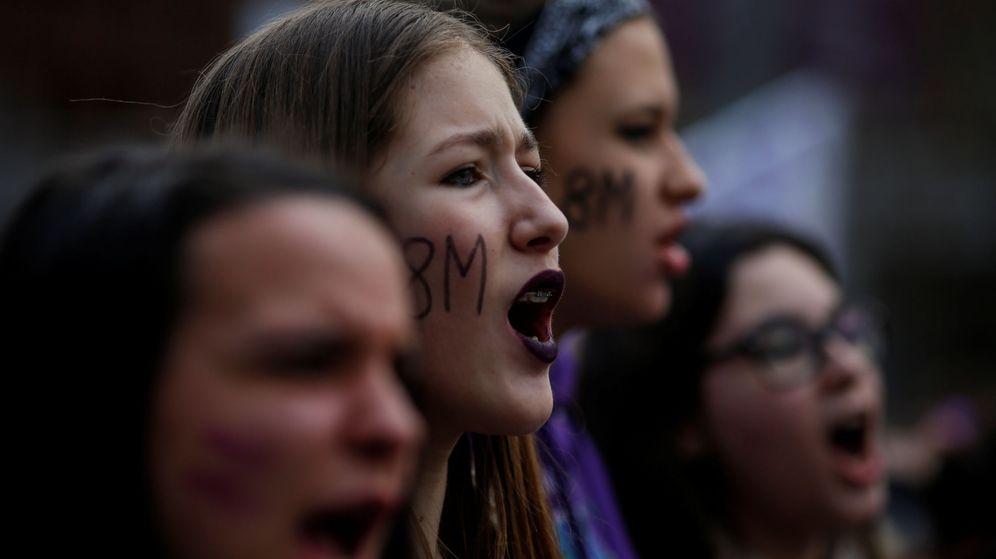 Foto: Manifestantes el 8M en Madrid. (Reuters)