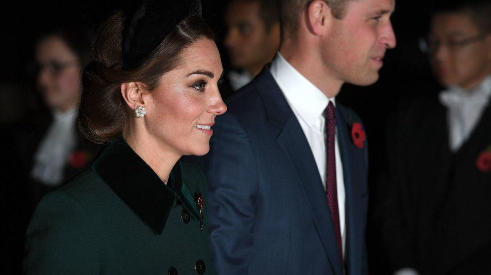 Foto: Los duques de Cambridge durante el evento. (Getty)