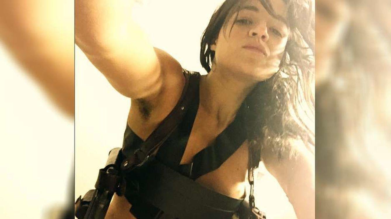 Foto: Michelle Rodríguez en la fotografía de la polémica con las axilas sin depilar