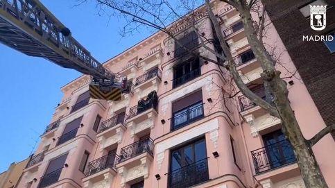Muere un anciano de 93 años en el incendio de su casa cerca de Atocha