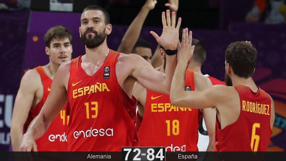 Marc Gasol destroza a Alemania y allana el pase de España a semifinales