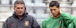 Queiroz convoca a Cristiano Ronaldo a pesar de estar lesionado
