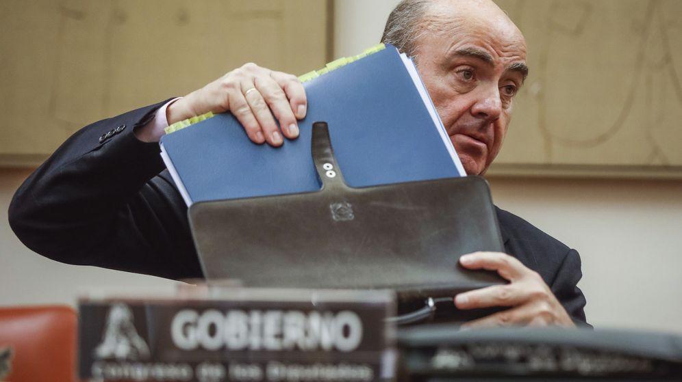 Foto: El ministro de Economía, Industria y Competitividad, Luis de Guindos