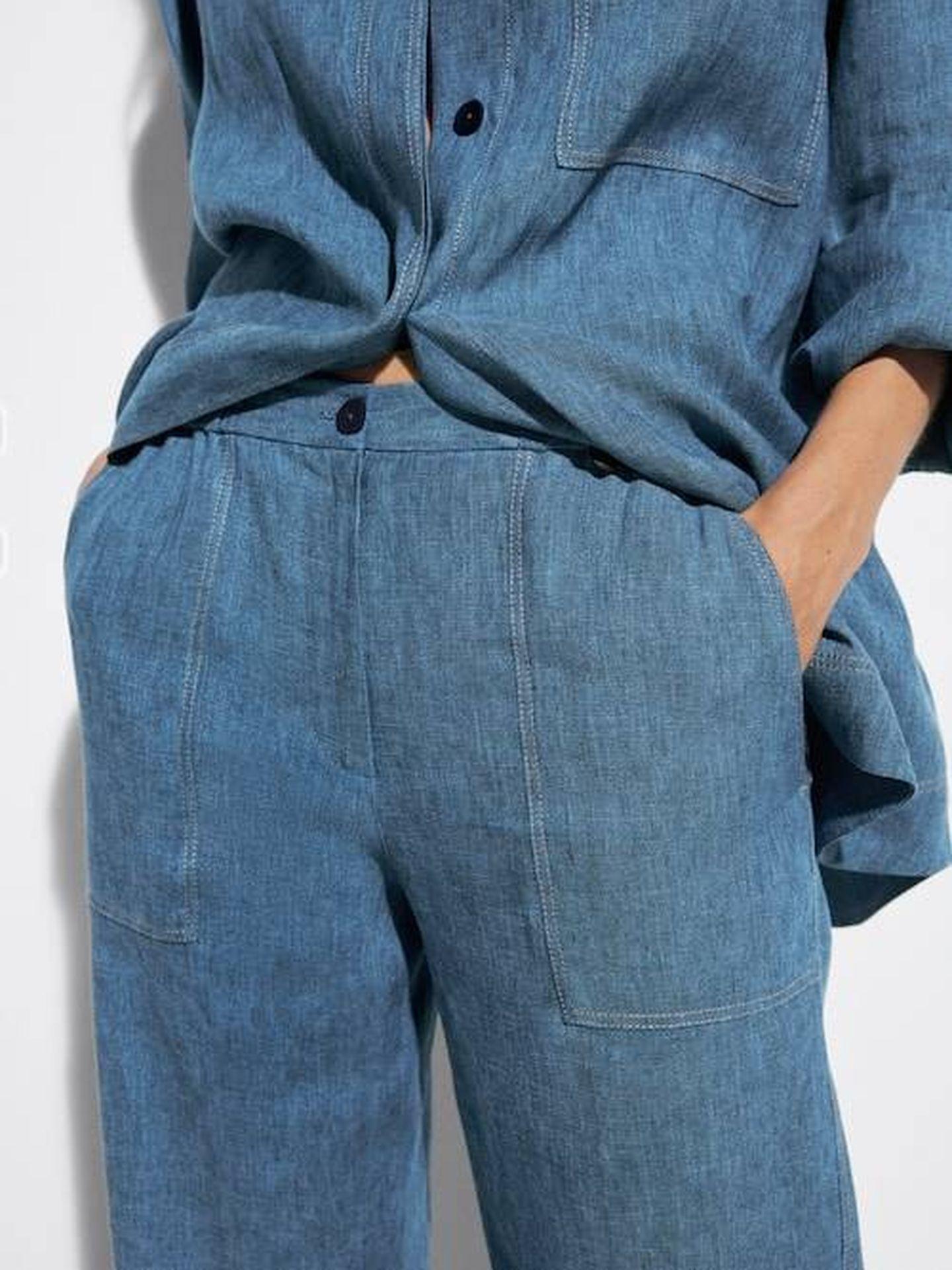 El pantalón vaquero de Massimo Dutti. (Cortesía)
