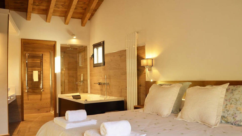 Interior del hotel Gredos María Justina.  (Cortesía)