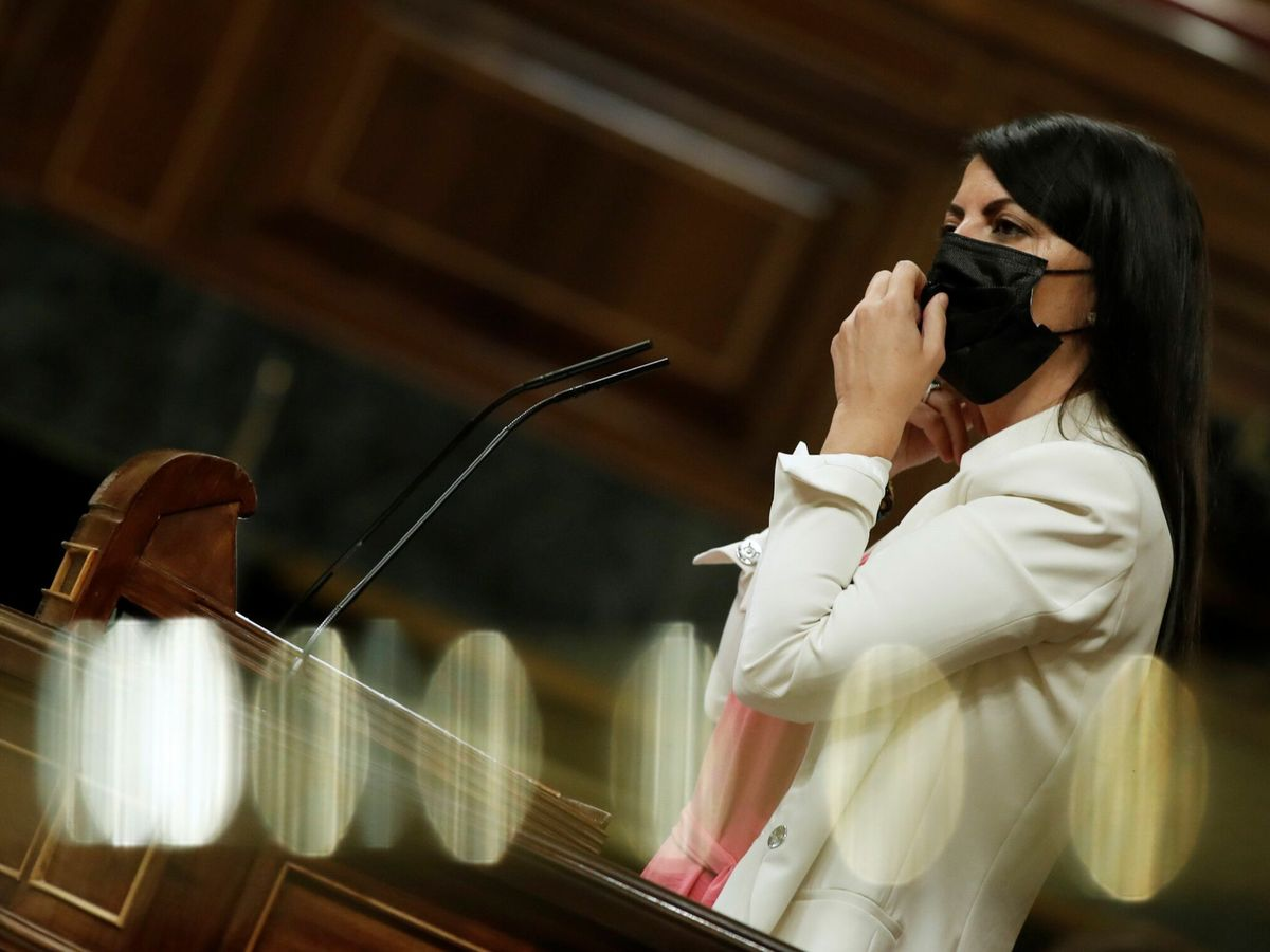 Foto: La portavoz de Vox, Macarena Olona. (EFE)