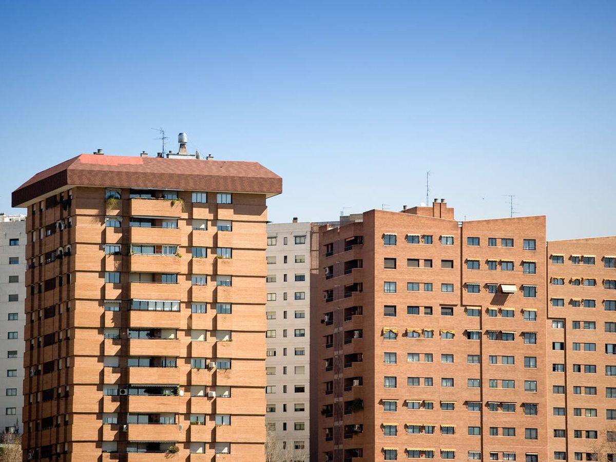 Foto: Bloques de edificios en Madrid. (iStock)