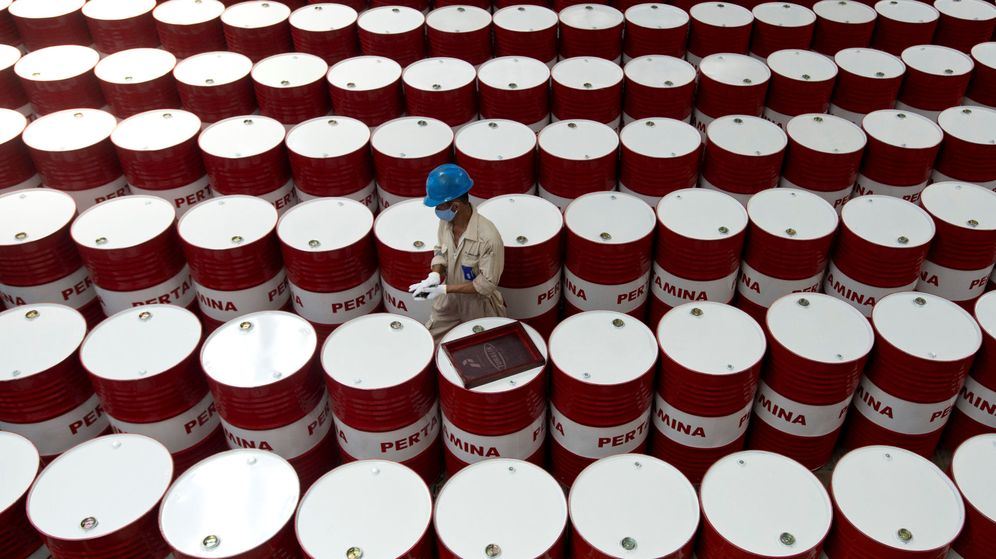 Foto: Barriles de petróleo
