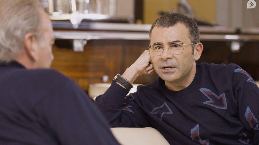 Foto: Jorge Javier Vázquez frente a Bertín. (Mediaset)