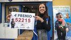 Los cuartos premios van a parar al 52.215 y al 71.119 y tocan sobre todo en Madrid