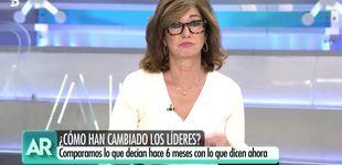 Post de Ana Rosa Quintana aclara su intención de voto, tras la polémica con Vox