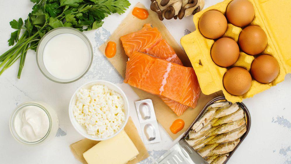 Foto: Alimentos ricos en vitamina D, clave para patologías como la apnea del sueño. (iStock)