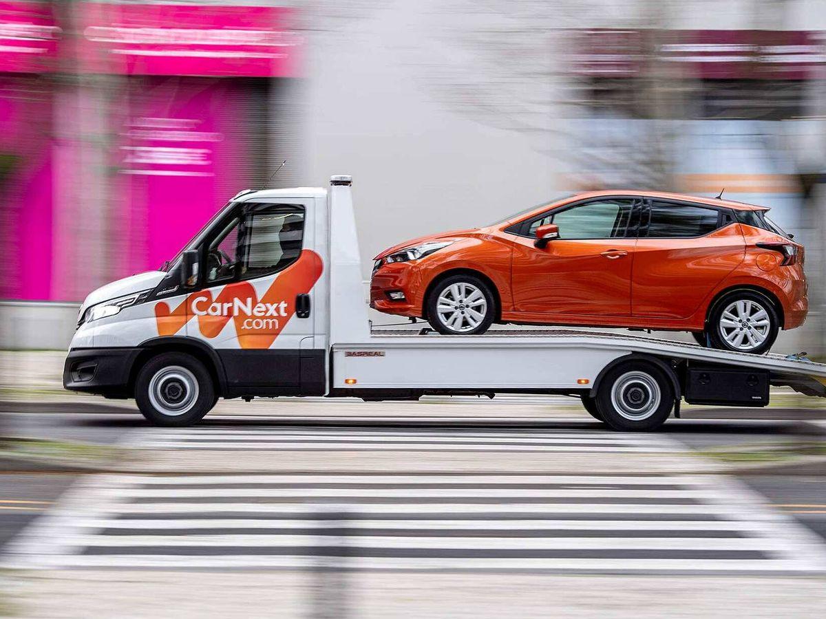 Foto: CarNext permite la opción de enviar al domicilio del cliente el coche recién adquirido.