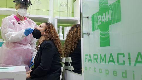 Solo el 0,5% de los test de antígenos de Madrid se realizan en farmacias y clínicas