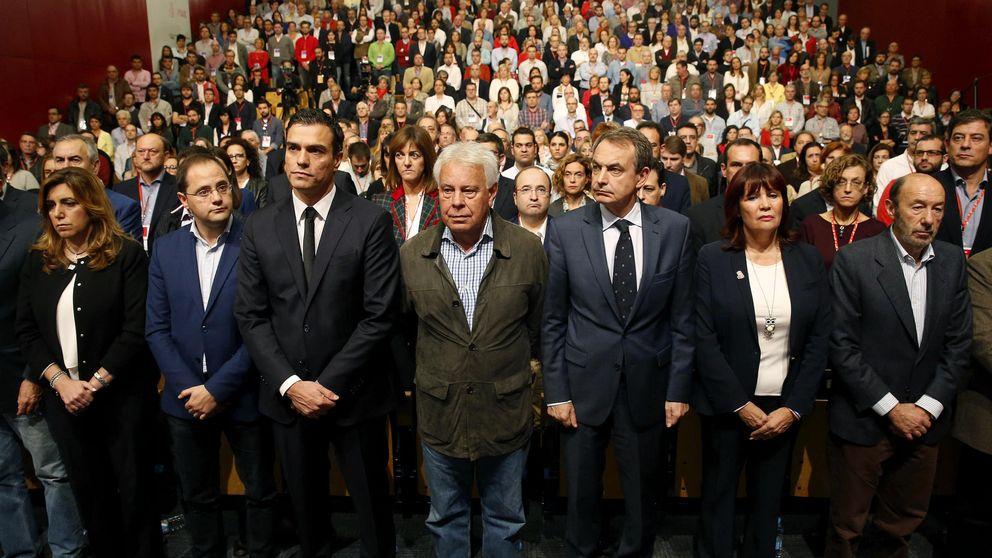 Los barones piden a Felipe González que frene el pacto con Podemos
