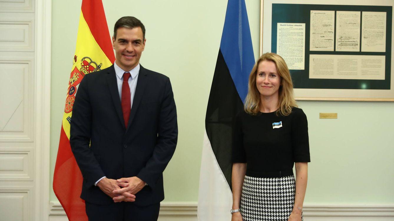 Kaja Kallas: la primera ministra estonia que toca la batería y 'tontea' con Pedro Sánchez