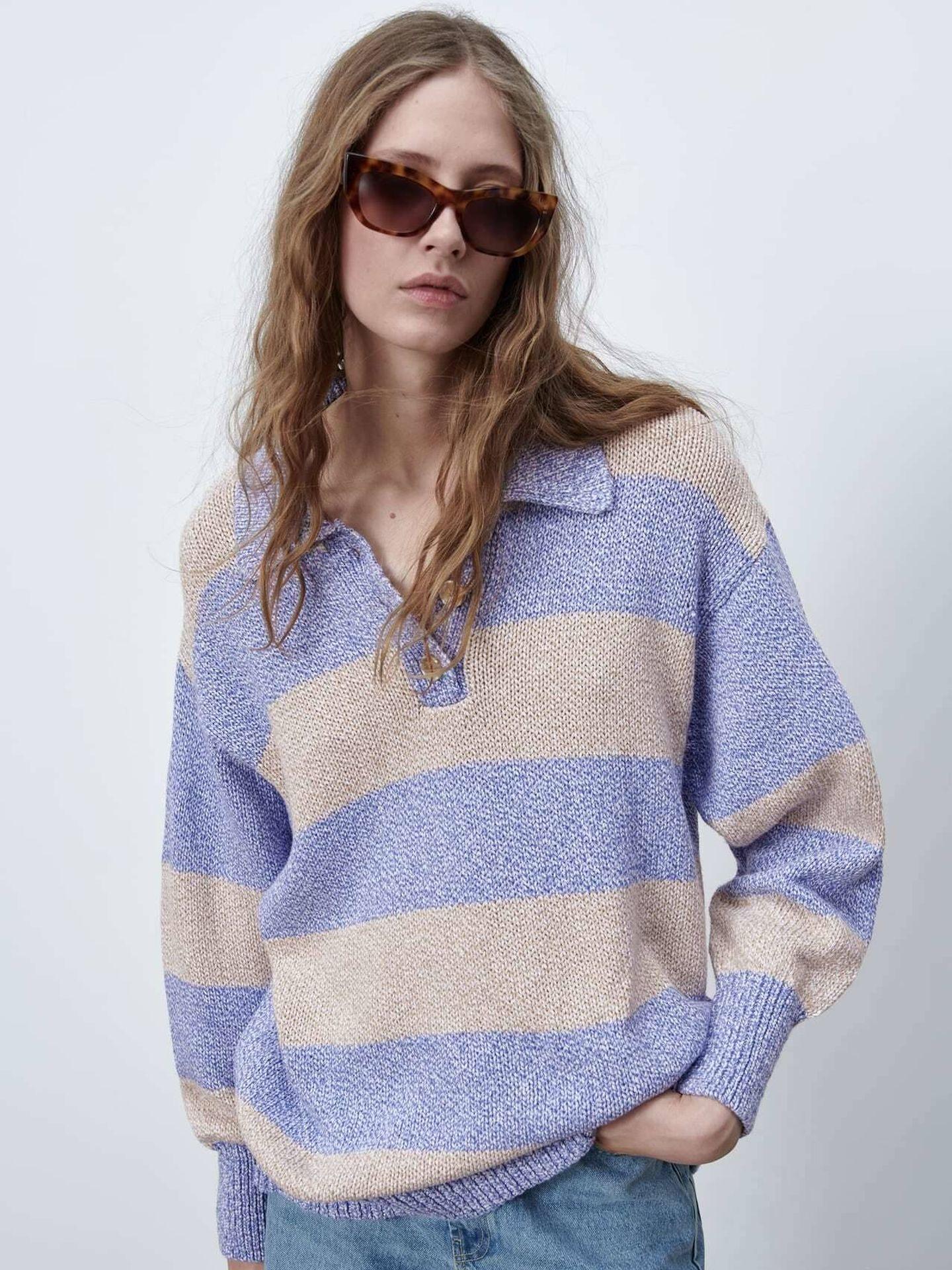 El jersey de Zara que tiene Rocío Osorno. (Cortesía)